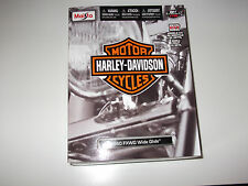 Maisto-Harley Davidson 1980 FXWG Wide Glide-KIT modello scala 1:18