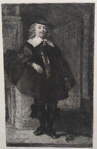 William Unger - incisione da Rembrandt