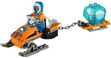 LEGO 60032 City Arctic Motoslitta - 1 minifigura COMPLETO