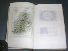 Ile Maurice Ile de France B.De St Pierre Paul et virginie Ed.Curmer 1838 gravure