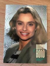 WOMEN OF BOND CONNOISSEURS INKWORKS TRADING CARD W25