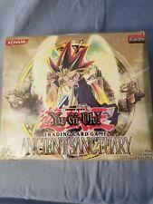 1996 YUGIOH ANCIENT SANCTUARY Factory Sealed Box, 24 Packs/9 Cards/Pk = 216 CARD