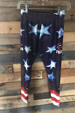 Fuji Jiu Jitsu Spats~patriotic~American Flag~sz XS~BJJ pants~Leggings