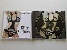 KILLER BARBIES  Sin is in FRENCH CD DRAKKAR/XIII BIS Records 6403332 - NMINT