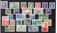 Canada Valores del año 1953-59 (BM-122)