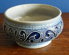 A blue stoneware bowl by Marzi & Remy [3334 11]