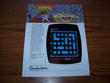 Gremlin Sega Digger Video Arcade Game Flyer Brochure 80