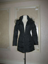 JUICY COUTURE BLACK PUFFER JACKET WITH HOOD SZ XL BNWT