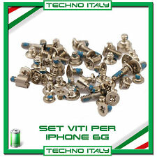 "Set VITI Completo per Apple iPhone 6 4,7"" Kit Riparazione Ricambio"