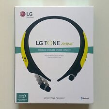 LG TONE Active HBS-850 Lime Green Neckband Bluetooth Wireless Stereo Headset