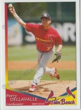 2019 Palm Beach Cardinals Perry Dellavalle RC Rookie St Louis