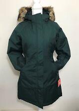 The North Face Women's Arctic Parka Down Coat Black Green White + XS S M L XL