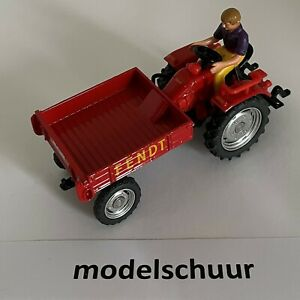 Siku 3476 - Fendt Geräteträger (rot / SSC September 2014) - Sondermodell 2014