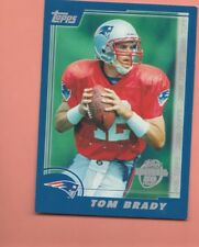 NFL : New England Patriots Tom Brady What If? Rookie Football Card - Rare