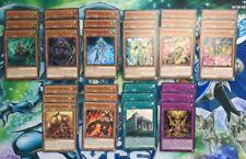 Yu-Gi-Oh! Elementsaber Complete Deck Core - FLOD - 1st Edition NM
