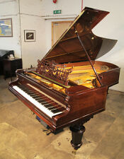 Antique, Bechstein Model D piano. Rosewood. PianoDisc Symphony Pro 228 system