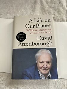 David Attenborough - A Life On Our Planet (SIGNED COPY) 1st Edition
