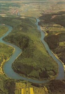 Saarschleife, Luftbild ngl F0968