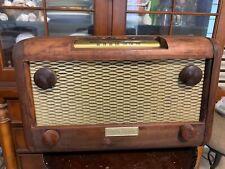 Antique Radio Constellation 1123, Works Great, Looks Great,New Finish&Capacitors