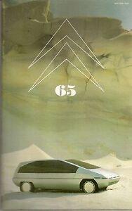 LE DOUBLE CHEVRON 65 1981 OLTCIT SPECIAL & CLUB DESSINS DE LA CROISIERE JAUNE