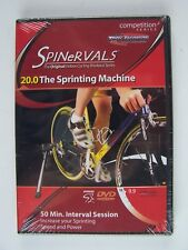 Spinervals 20.0 The Sprinting Machine DVD New Sealed