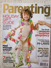 Parenting Magazine December 2008 / January 2009 Holiday Gift Guide