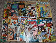 10 misc. Bronze Comics Batman Avengers Iron-Man