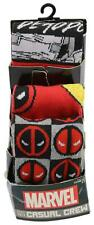 Marvel Spiderman Unisex Casual Crew Socks 3-Pair Fits Shoe Size 8-12