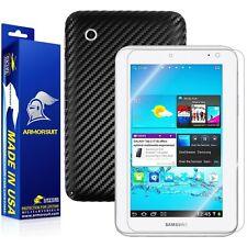 ArmorSuit MilitaryShield Samsung Galaxy Tab 2 7.0 Screen + Black Carbon Fiber!