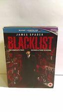 Blacklist Season 1, 2 And 3 Blu-ray USED Region B/2