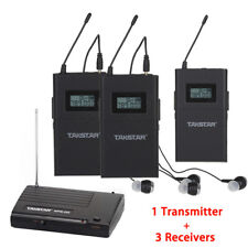 Takstar In-Ear Stereo WPM-200 1 Transmitter+3 Receivers Wireless Monitor System