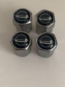 Jensen Interceptor Ff Sp Healey wheel Badge Dust Valve Caps X4