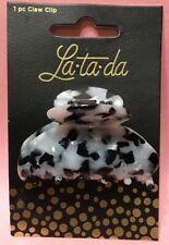 La-ta-da Claw Clip Hair Care Black + White 1pc FREE SHIPPING NEW