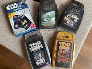 Top Trumps 3 Star Wars +Herr der Ringe + Star Wars 3 Card Match Game