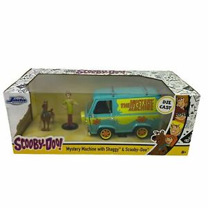 Scooby-Doo! Mystery Machine with Shaggy 1:24 Toy Car Die-Cast