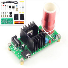 DIY  15W Mini Tesla Coil Plasma Speaker Set Electronic Field Music Part BBC