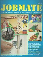 JOBMATE 74 DIY -FENCING, FURNITURE, MURALS, SECURITYetc