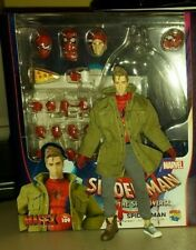 IN HAND! Mafex Peter B Parker Spider-Man Into The Spider-Verse No.109