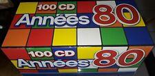 COFFRET 100 CD ANNEES 80 KAREN CHERYL ROSE LAURENS FRANCOISE HARDY..............