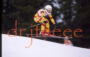 1988 OLYMPICS Karen Percy CANADA - 35mm Alpine Skiing Slide