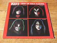 KISS - BEST OF SOLO ALBUMS  LP VINYL   ORIGINAL GERMAN PRESSING  CASABLANCA