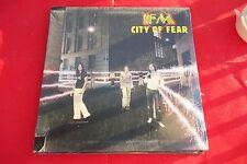 "FM CITY CITY OF FEAR VINIL 12"" SEALED"