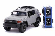 Toyota FJ Cruiser, Gray - Jada 54027/W25 - 1/24 Scale Diecast Model Toy Car