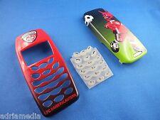 1.fc kaiserlautern cover Front back para Nokia 3410 con teclado y Tapa batería