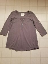 L.O.G.G Women's  Lable Of Graded Goods top Light Brown Size S