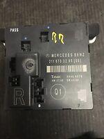 07 08 09 Mercedes E320 E350 E550 Right Rear Door Module 2118703285