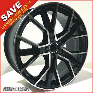 """20"""" RS6 D BP Style ALLOY WHEELS + TYRES Fits - AUDI A4 A5 A6 A7 A8"""