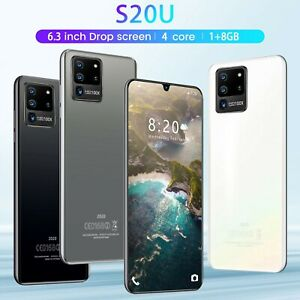 S20U 1GB+8GB Android Smartphone 4-Core 6.3 Inch Mobile Phone