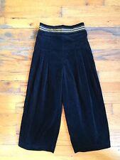 Hollywood Baby 100% Velvet Black Cotton Genie Harem Pants Sz 6 PERFECT & CUTE