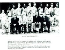 1970 1971 BOSTON CELTICS  8X10 TEAM PHOTO BASKETBALL NBA HAVLICEK NELSON COWENS